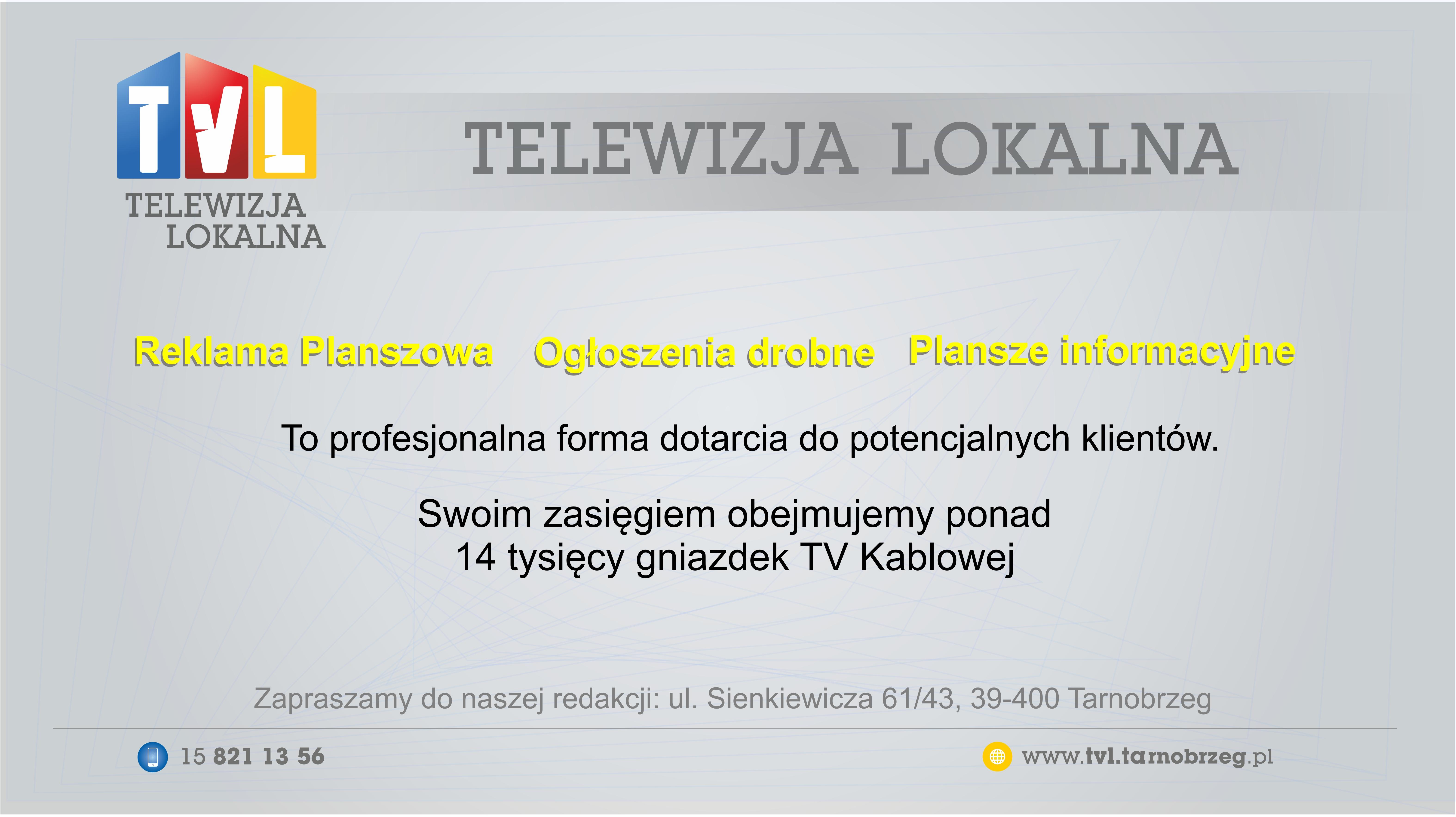 TVL reklama PLANSZA